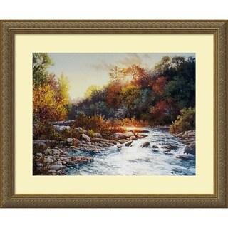 Charlotte Curry 'Sunset's Splendor' Framed Art Print