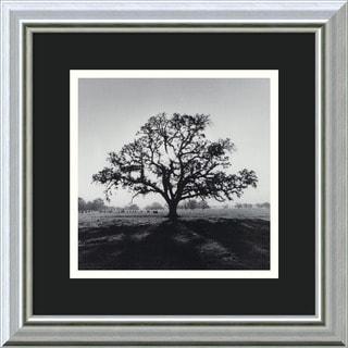 Ansel Adams 'Oak Tree, Sunrise, Northern California, 1966' Framed Art Print