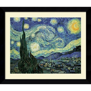 Vincent van Gogh 'The Starry Night' Framed Art Print