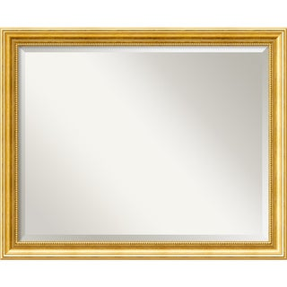 Townhouse Goldtone Wall Mirror - Large