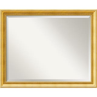Townhouse Large Gold Wall Mirror