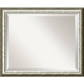 SoHo Silver Wall Mirror - Medium' 23 x 19-inch