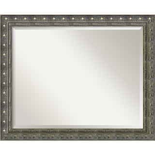 Barcelona Pewter Wall Mirror - Large
