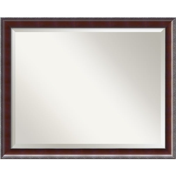 Country Walnut Large Wall Mirror 5243107