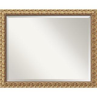 Florentine Gold 32 x 26 Large Wall Mirror