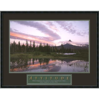 'Attitude - Moonrise' Framed Art Print
