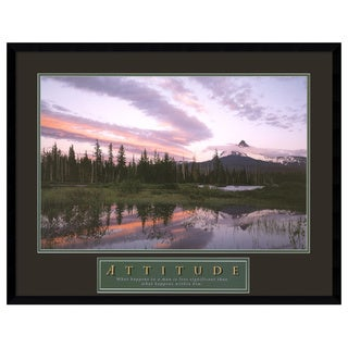 Attitude: Moonrise' Framed Art Print