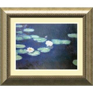 Claude Monet 'Nympheas, 1897' Framed Art Print