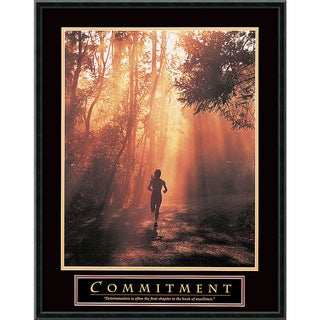 'Commitment' Framed Art Print