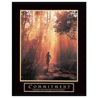 Commitment' Framed Art Print