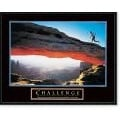 'Challenge: Runner' Framed Art Print
