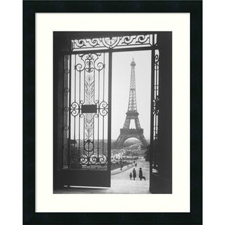 Gall 'The Eiffel Tower From The Trocadero, 1925' Framed Art Print
