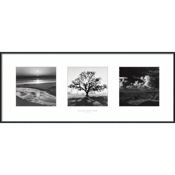 Ansel Adams 'Fiat Lux: Trilogy' Framed Art Print