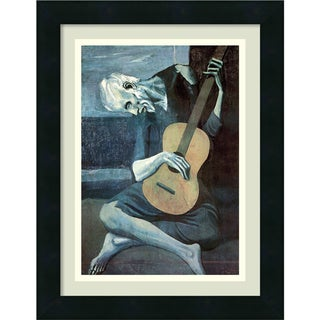 Pablo Picasso 'The Old Guitarist' Framed Art Print