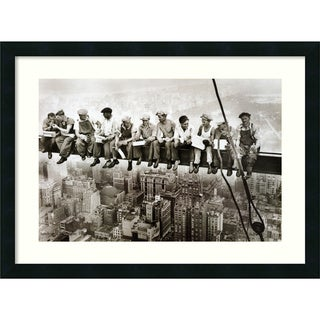 Charles C. Ebbets 'Lunch on a Skyscraper' Framed Art Print