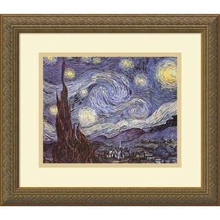 Vincent van Gogh 'The Starry Night' Framed Art Print
