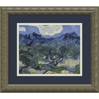 Vincent van Gogh 'The Olive Trees' 1889 Framed Art Print