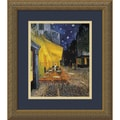 Vincent van Gogh 'Cafe Terrace At Night' Small Framed Art Print