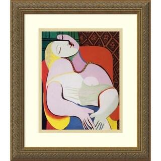 Pablo Picasso 'The Dream, 1932' Framed Art Print