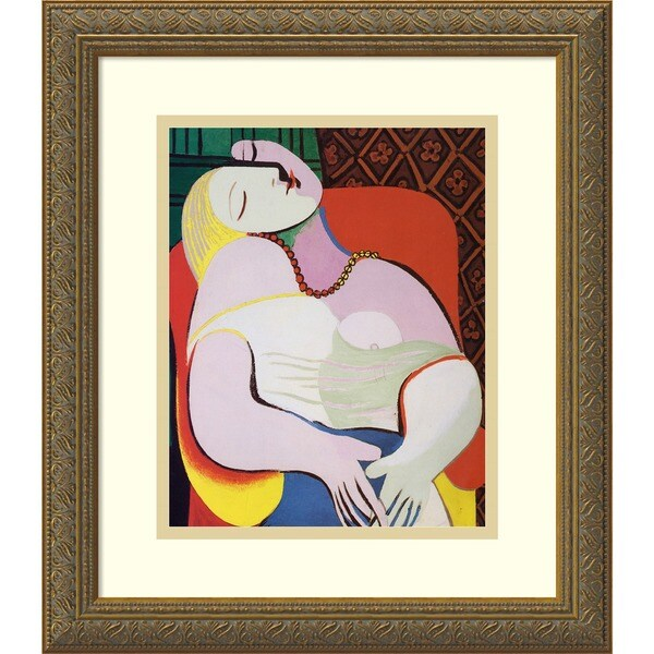 Pablo Picasso 'The Dream, 1932' Framed Art Print