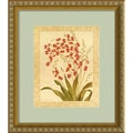 Gloria Eriksen 'Red Begonias' Framed Art Print