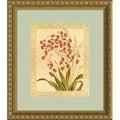 Gloria Eriksen 'Red Begonias' Framed Art Print