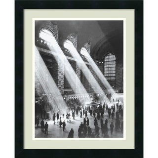 'Grand Central Station' Vertical Framed Art Print