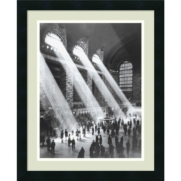 Grand Central Station' Framed Art Print