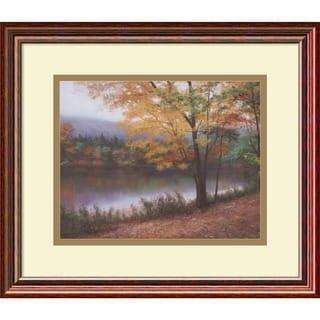 Diane Romanello 'Golden Autumn' Framed Art Print