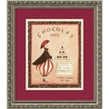Katharine Gracey 'Chocolat, Paris' Framed Art Print