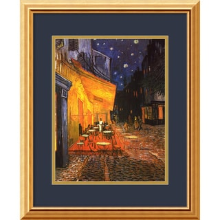 Vincent van Gogh 'Cafe Terrace At Night, 1888' Framed Art Print