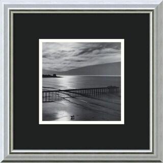 Ansel Adams 'The Scripps Pier, 1966: Fiat Lux' Framed Art Print