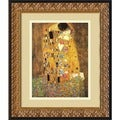 Gustav Klimt &#39;The Kiss, 1907&#39; Framed Art Print