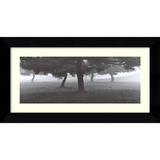 Richard Calvo 'Trees in the Fog' Framed Art Print