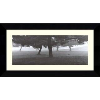 Richard Calvo 'Trees in the Fog' Framed Art Print