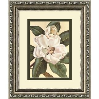 Von Schwarzbek 'Afternoon Magnolia' Framed Art Print