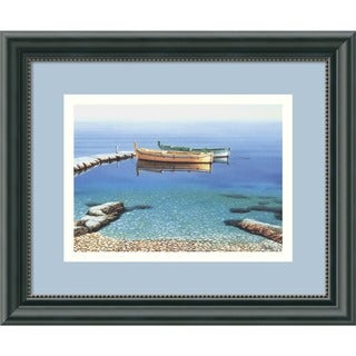 Frane Mlinar 'Peaceful Morning' Framed Art Print
