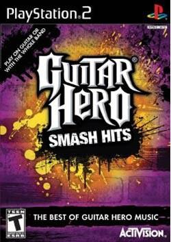 PS2 - Guitar Hero: Smash Hits