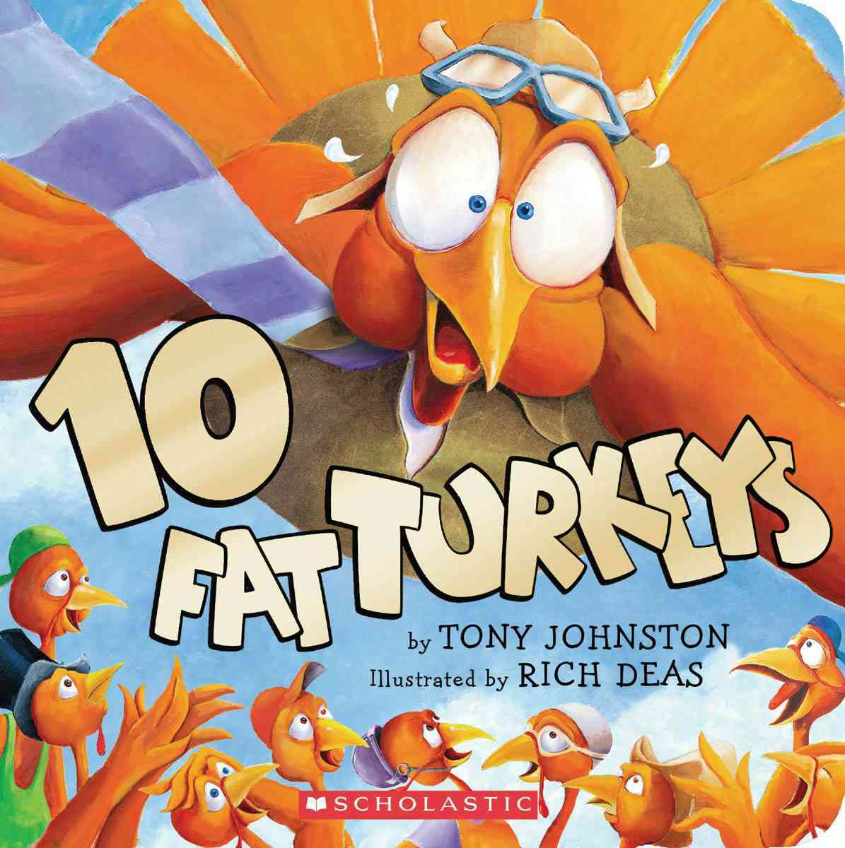 10 Fat Turkeys (Board book)