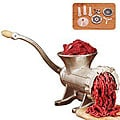 Weston Tinned Bolt-down Manual Meat Grinder