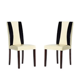 Savana Bi-cast Leather Chairs (Set of 4)