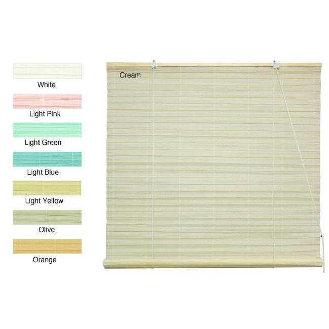 Shoji Paper 36-inch Roll-up Blinds (China)