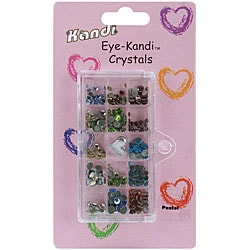 Kandi 'Eye Kandi' HotFix Jewel Embellishment Set (Pastel Mix)