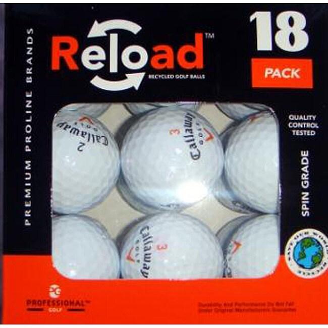 Callaway HX Hot Mid-grade Rubber/Surlyn Golf Balls (Pack of 54)