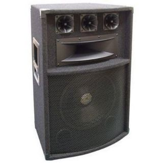 Pyle PylePro PADH1289 300 W RMS Speaker - 5-way - Black