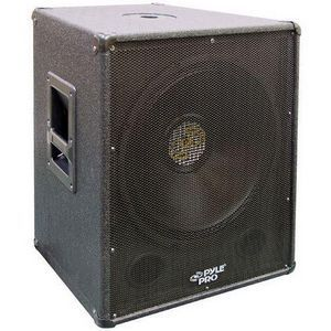 PylePro PASW15 400 W RMS - 800 W PMPO Woofer - 1 Pack - Black