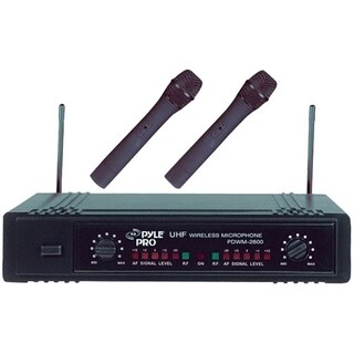 Pyle PDWM2600 Professional Microphone System