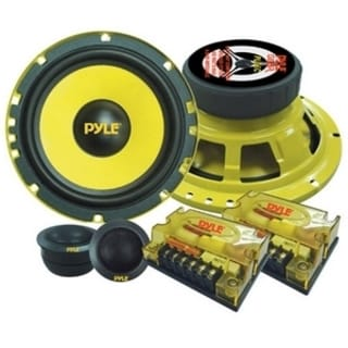 Pyle Gear X PLG6C Speaker - 200 W RMS - 400 W PMPO - 2-way - 2 Pack