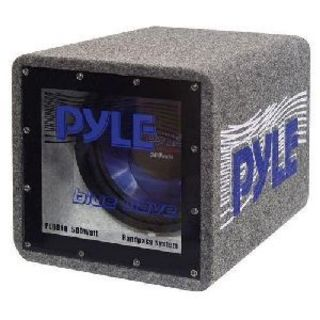 Pyle Blue Wave PLQB10 - 500 W PMPO Woofer - 1 Pack - Blue