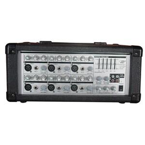 PylePro PMX601 6xChannel Powered PA Mixer